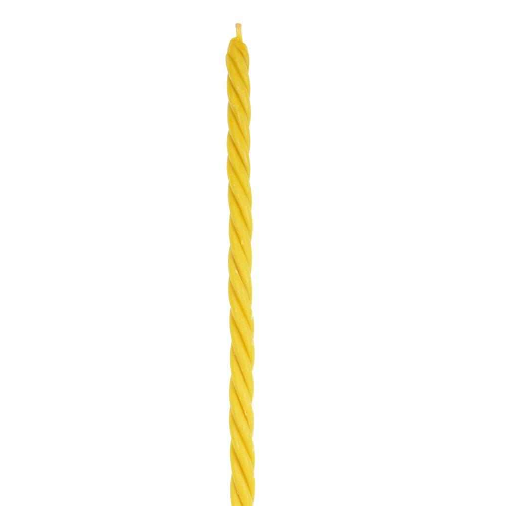 Свечи восковые витые №20, в коробке 50шт